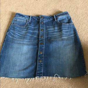 Abercrombie and Fitch button down skirt